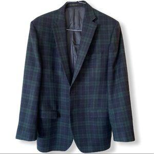 Ralph Lauren Plaid Blazer 42R 100%Wool blazer 42R